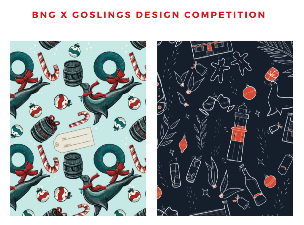 Bermuda National Gallery Goslings Wrapping Paper Design Competition
