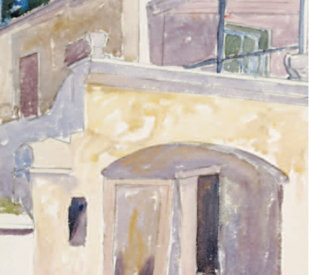 George C. Ault Back of St George's House Bermuda National Gallery