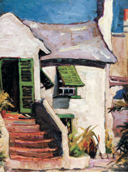 Stanley Wingate The Old Rectory Bermuda National Gallery
