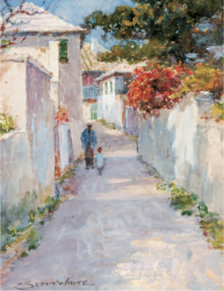 Clarence Scott White St George's Bermuda National Gallery