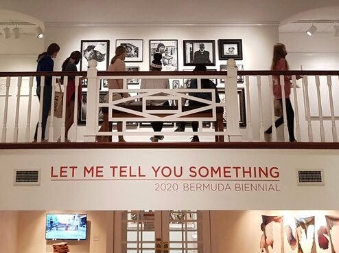 2020 Bermuda Biennial Let Me Tell You Something