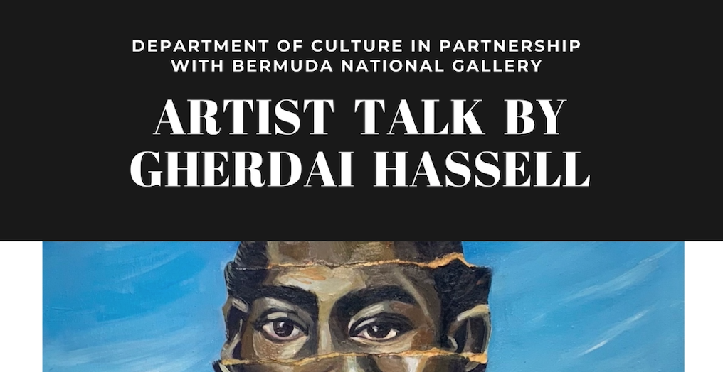 artist talk by gherdai hassell bermuda national gallery