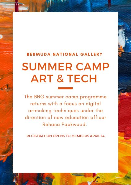Bermuda National Gallery Art & Tech Summer Camp